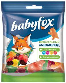 Мармелад Бэйбифокс жевательный бегемоты 30 гр. 8,00₽ шт