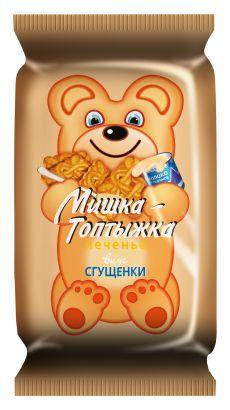 Печенье Мишка Топтыжка вкус сгущенки 25гр 4,00₽ шт